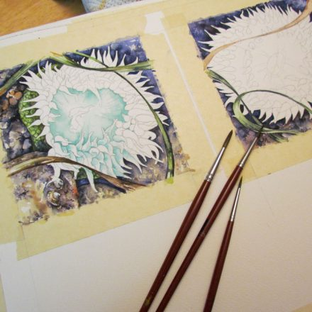the watercolour process