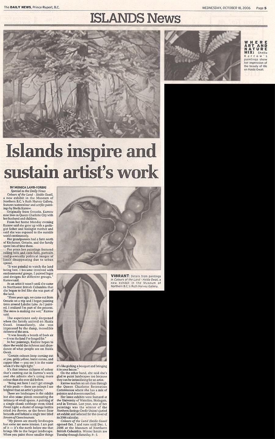 Islands inspire