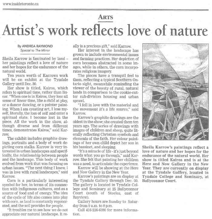 The Toronto Mirror, December 2002
